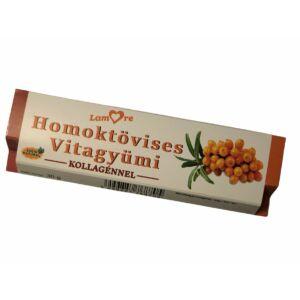 Homoktövises Vitagyümi-szelet-kollagénnel-30 gr
