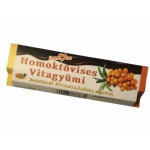 Homoktövises Vitagyümi-zabszelet-étcsokoládéval-30 gr