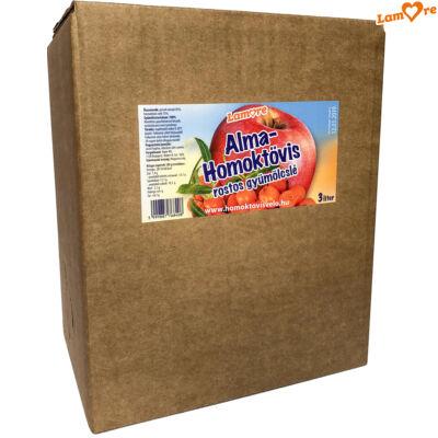 Alma-homoktövis rostos gyümölcslé (3L)