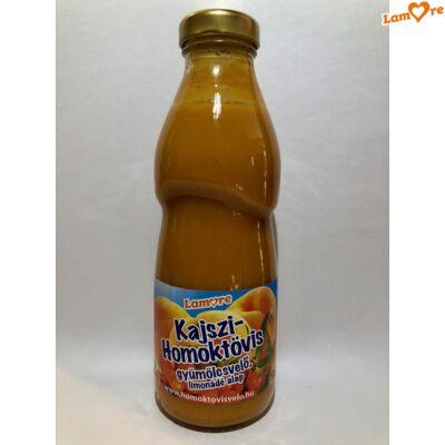 Kajszi - Homoktövis - gyümölcsvelő - 500 ml