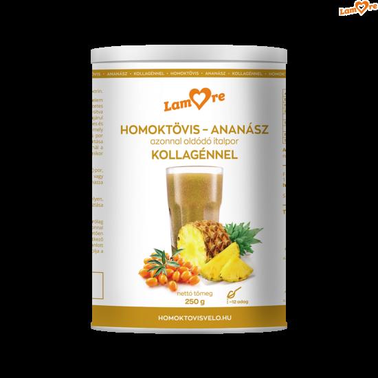 homoktövis-ananász-kollagén italpor - 250 gr