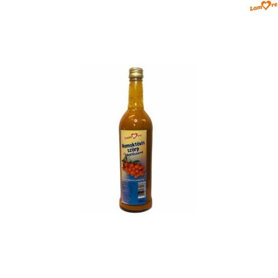 Homoktövis szörp édesítőszerrel - 500 ml
