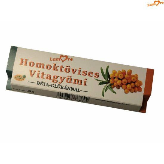 Homoktövises Vitagyümi-szelet-béta-glükánnal-30 gr
